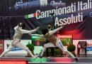 Cassino – Campionati Assoluti di  Scherma, ecco i campioni del fioretto maschile e femminile. Domani la spada, domenica la sciabola