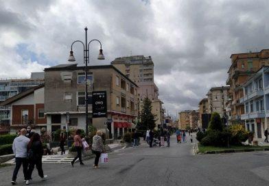 Frosinone, anche oggi 'A passeggio per due chilometri'