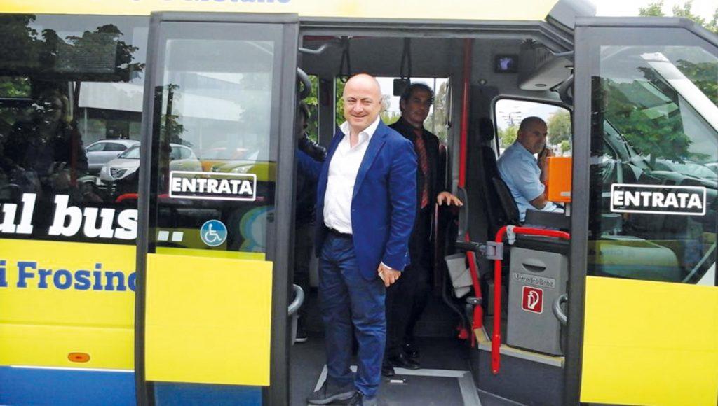 nicola ottaviani sindaco frosinone bus cialone