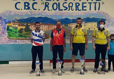"""BOCCE – Luca Santucci vince il """"48° Trofeo R. Olsaretti"""""""