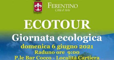 Ferentino, domenica 6 giugno la prima tappa dell'Ecotour 2021