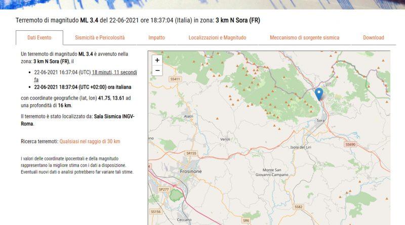 terremoto sora