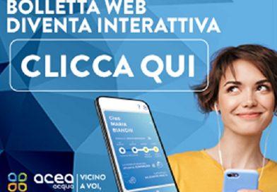 Digitalizzazione dei servizi, Acea Ato 5 rinnova il servizio bolletta web
