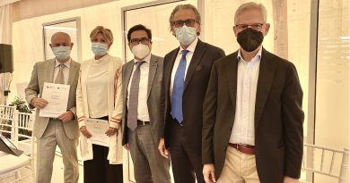 Covid, consegnati attestati di merito ai sanitari del Gruppo INI impegnati nella campagna vaccinale