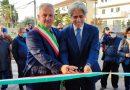 Pignataro Interamna – Taglio del nastro con il presidente Pompeo dopo i lavori di ristrutturazione del deposito sulla S.P. 45