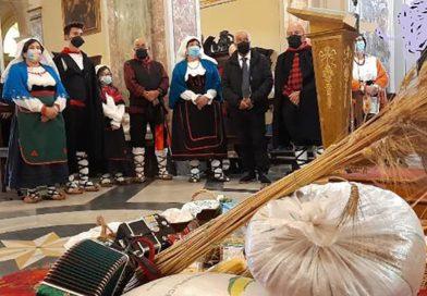 Veroli – Santa Messa con il rito della benedizione del grano