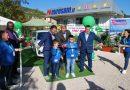 Veroli – Nuova colonnina di ricarica per auto elettriche, in tanti allo showroom di Eurosam